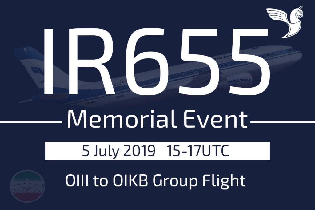 IR655 Memorial Event